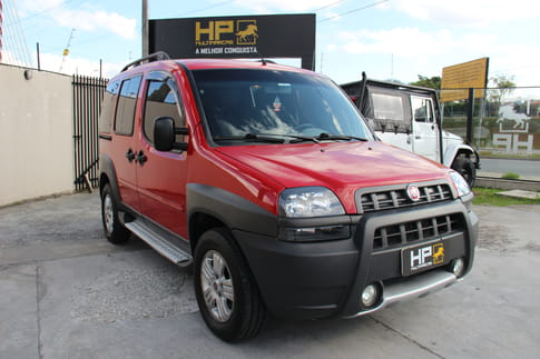 FIAT DOBLO ADVENTURE 1.8 8v 5P (Flex)