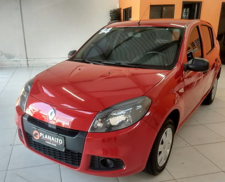 RENAULT SANDERO AUTHENTIC 1.0 16V FLEX 4P