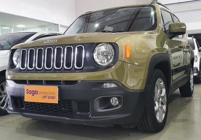 Jeep renegade 1.8 16v flex longitude 4p automatico 2016