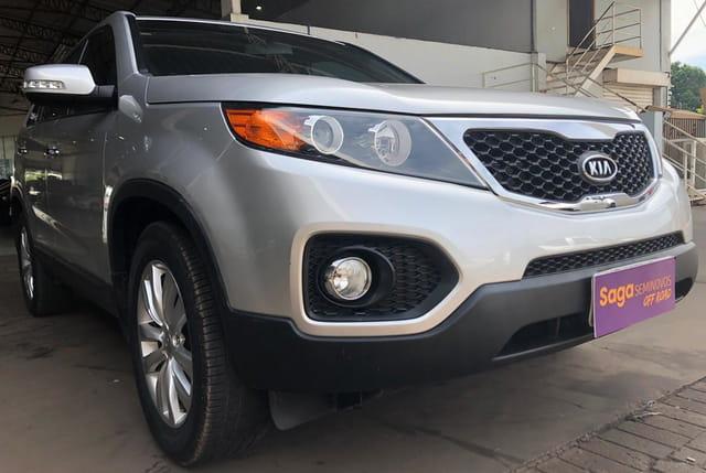 Kia sorento 2.4 16v gasolina ex automatico 2012