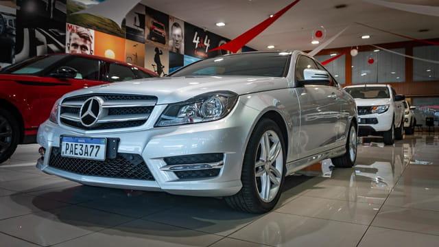 Image Mercedes-Benz C180 Cgi Coupe 2p