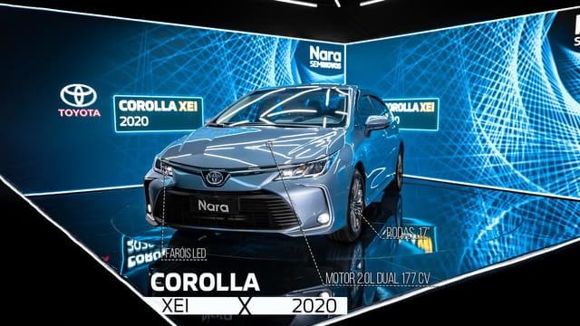 Image Toyota Corolla Dynamic 2.0 Xei Flex 16v Aut