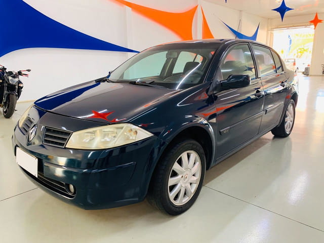 megane 1.6 sedan expression 16v flex 4p manual