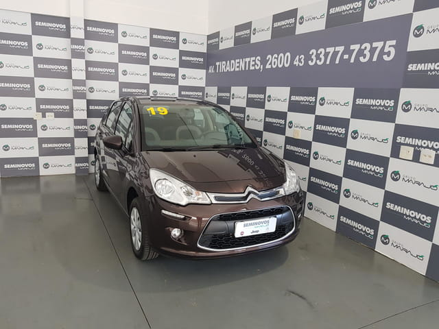 Citroen c3 1.2 attraction 12v flex 4p manual 2019