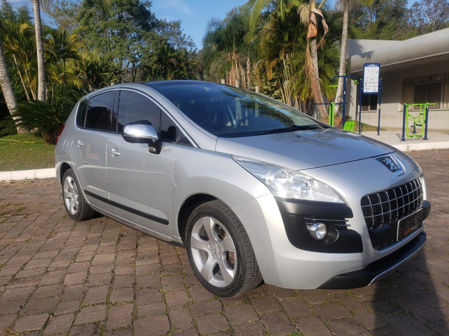 3008 griffe pack 1.6 turbo 16v 2011 vale real