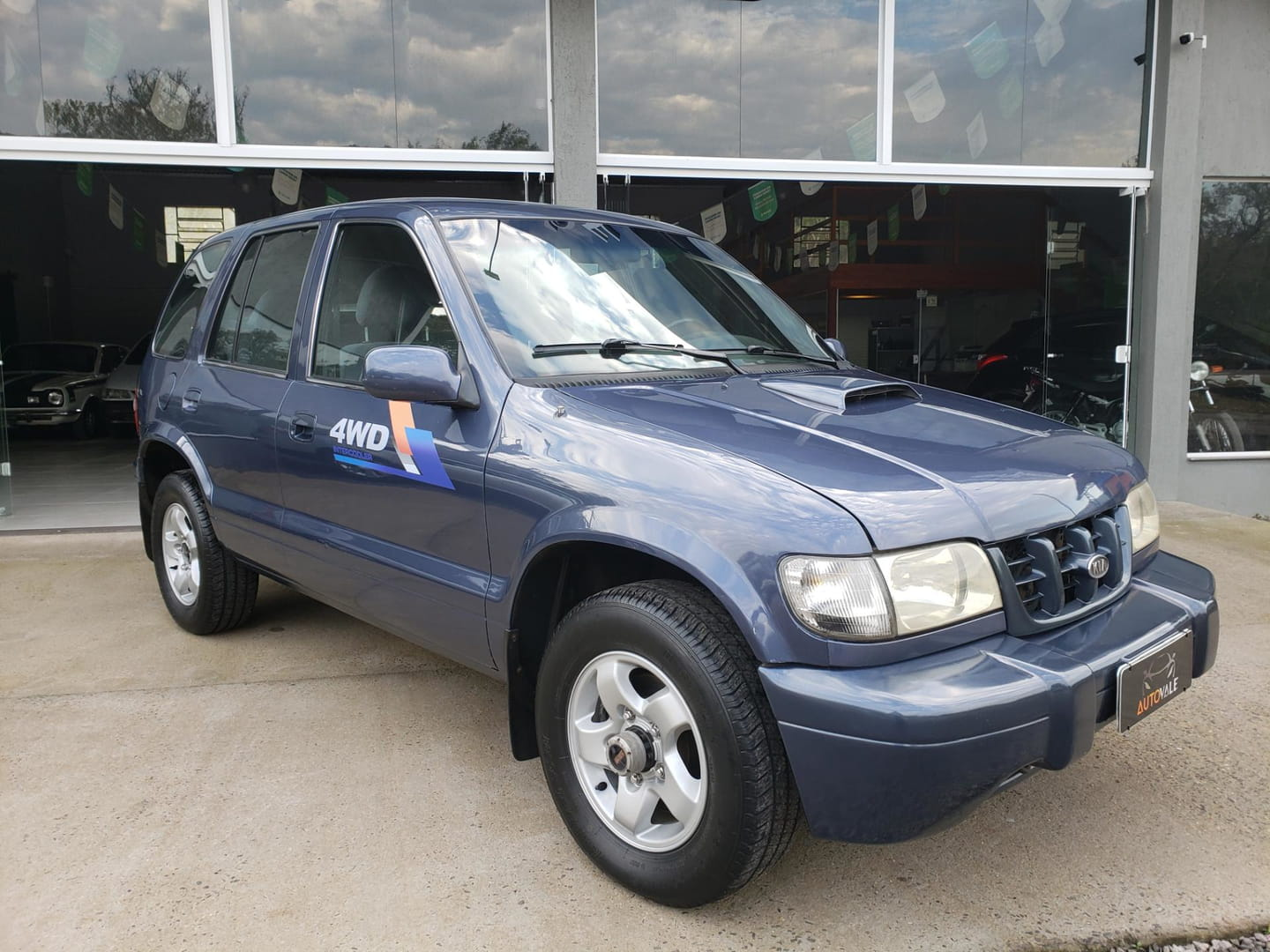 sportage 4x4 2.0d tbic 4p 2003 vale real