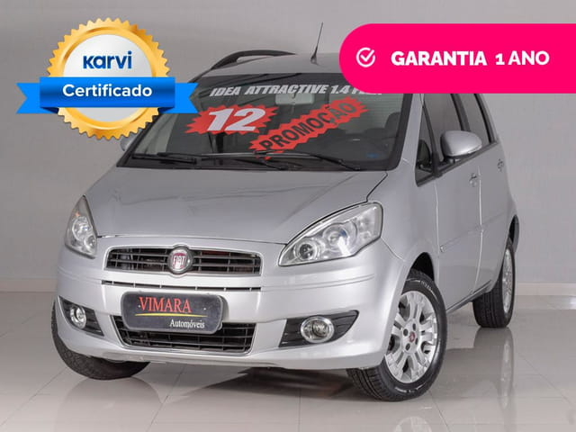 Foto fiat idea attractive 1.4