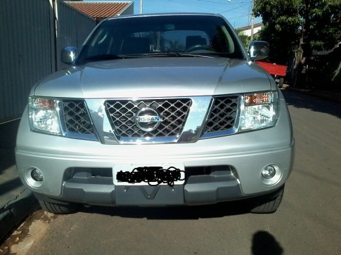 2008 NISSAN FRONTIER SEL CAB DUPLA 4X4 2.5 TB