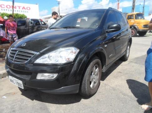 2011 SSANGYONG Kyron 2.0 TDI Diesel Aut.COMPLETA  Couro Som Trava Alarme Airbags 84 MKm U.Dono FRETE e Lic.2015 PAGOS