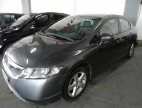 2008 Honda Civic Sedan LXS 1.81.8 Flex 16V Aut. 4p 2008