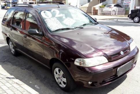 2002 Fiat Palio Weekend ELX 1.0 mpi Fire 16V 2002