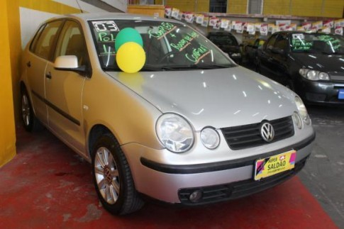 2003 Volkswagen Polo 1.6 Mi S.Ouro 1.6Mi 101cv 8V 5p 2003