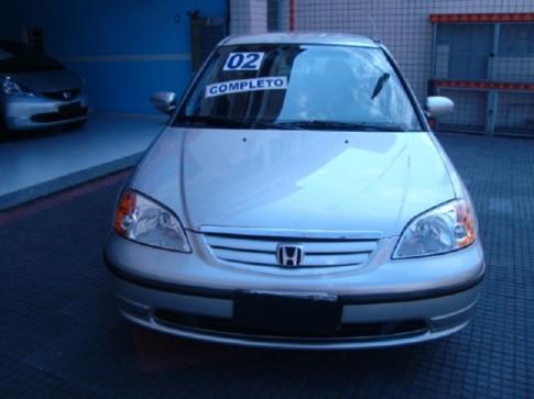2002 HONDA CIVIC SEDAN LX-MT 1.7 16V