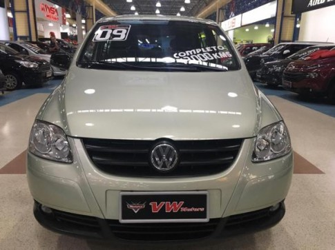 2009 Volkswagen Fox Route 1.6 Mi Total Flex 8V 5p 2009