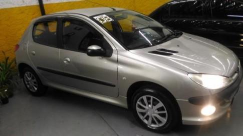 2008 Peugeot 206 Presence 1.4 1.4 Flex 8V 5p 2008