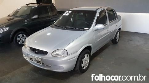 2002 Chevrolet Corsa Sedan Super Milenium 1.0 MPFi