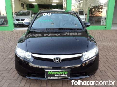 2008 Honda Civic New LXS 1.8 16V (flex)