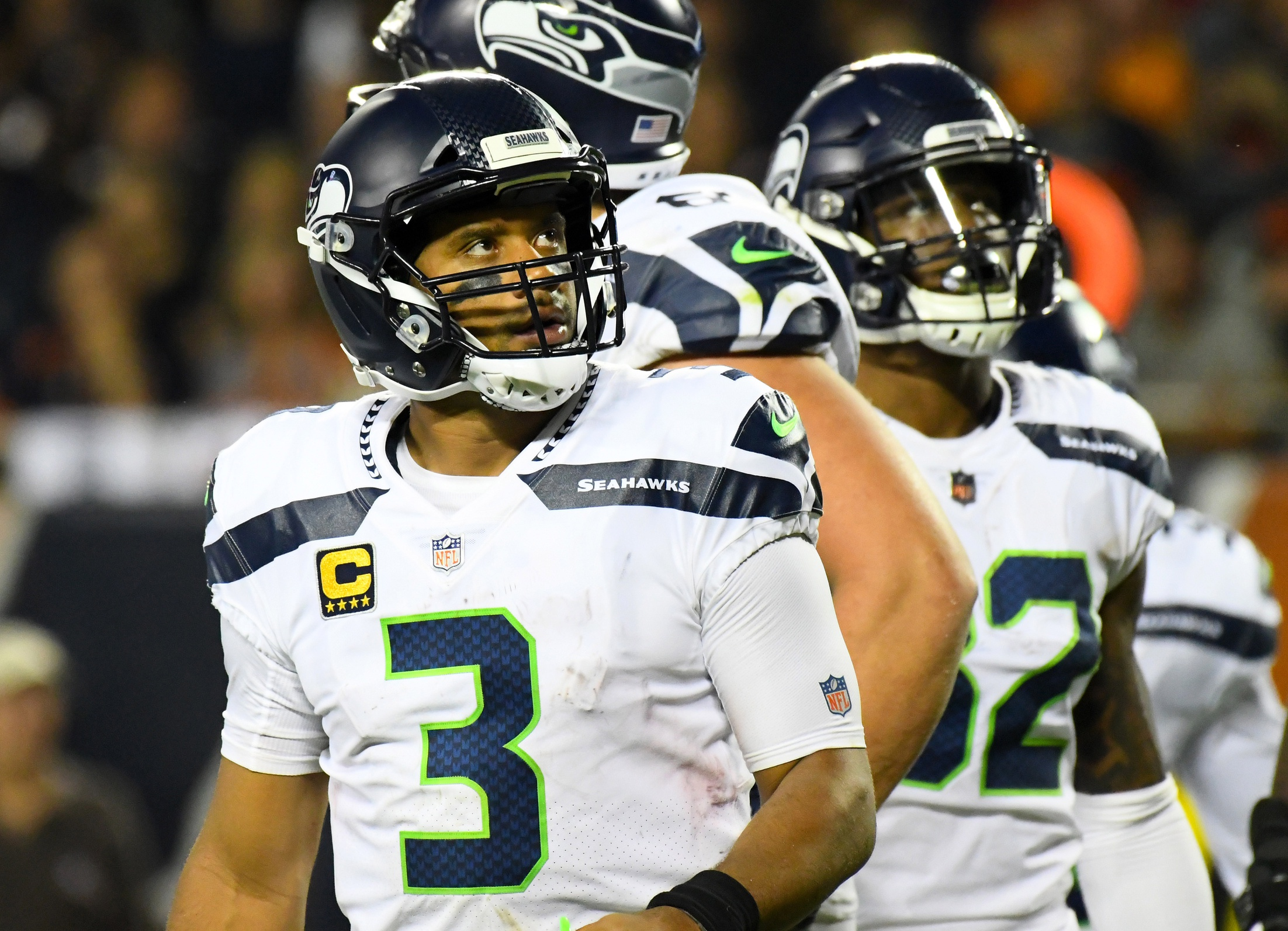 Seattle Seahawks Reporter  Russell Wilson Must Be More Decisive ... 4fc6c86bd