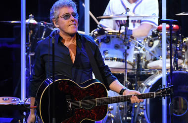 Singer Roger Daltrey of The Who performs on the first night of the band's residency at The Colosseum at Caesars Palace on July 29, 2017 in Las Vegas, Nevada