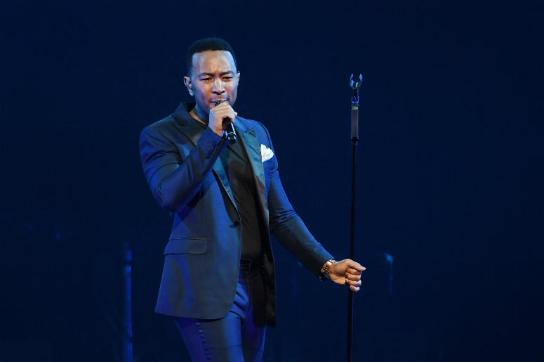 John Legend performs in 2017