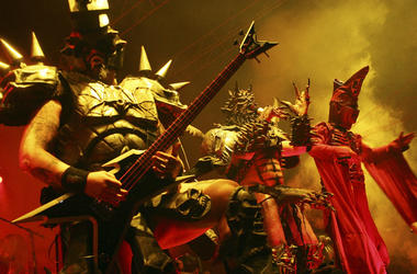 Metal band GWAR performs live onstage for the Viva La Bam tour at Roseland Ballroom on November 2, 2007 in New York City.