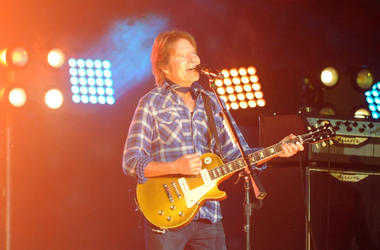 John Fogerty performs during half time of the 2015 CFP semifinal