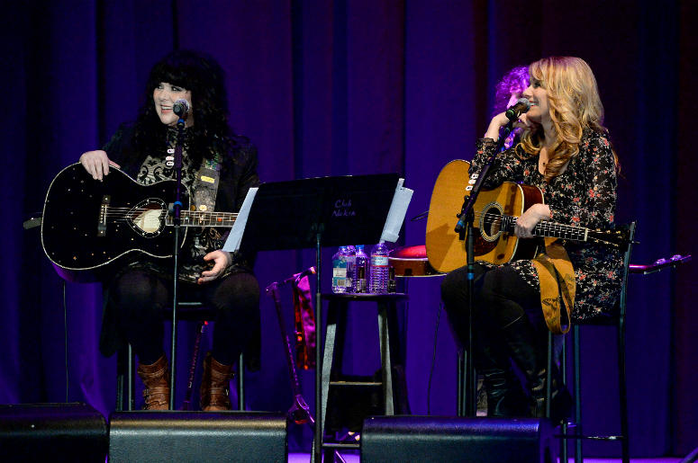 Ann and Nancy Wilson of Heart