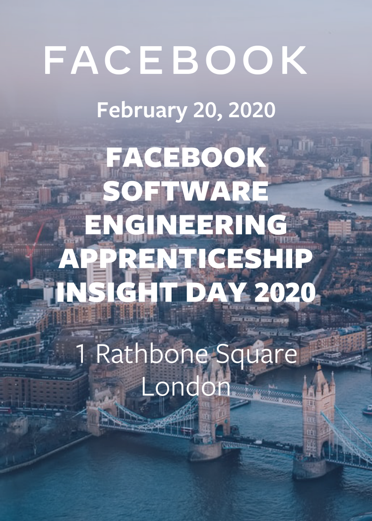 Facebook Software Engineering Apprenticeship Insight Day 2020