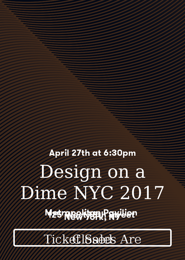 Design On A Dime Nyc 2017