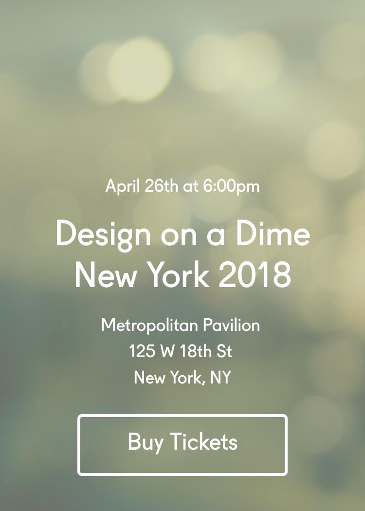 Design On A Dime New York 2018