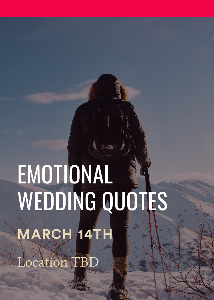 Emotional Wedding Quotes Splash