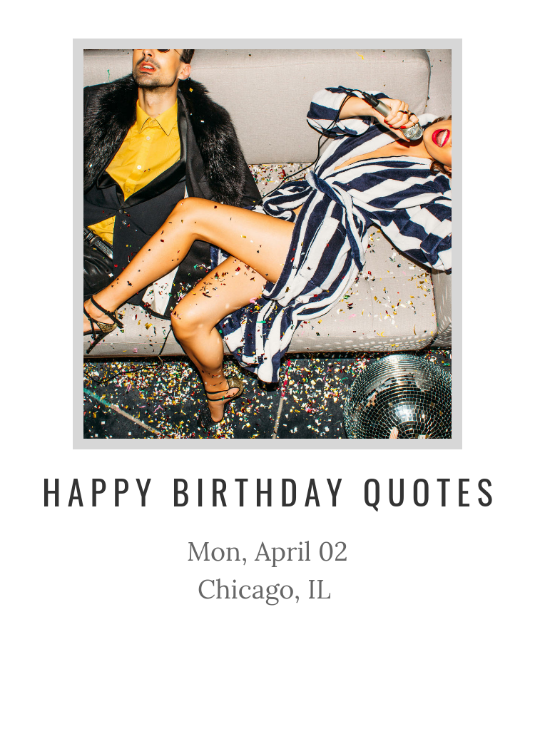 Happy Birthday Quotes - Splash