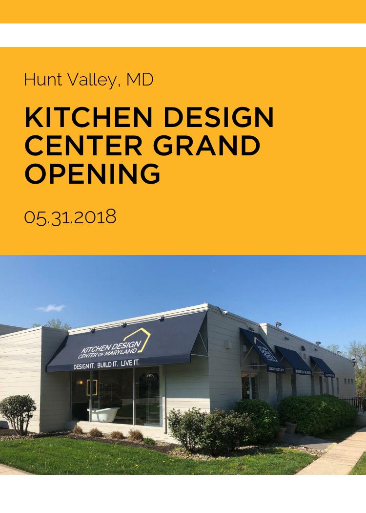 Kitchen Design Center Grand Opening Splash