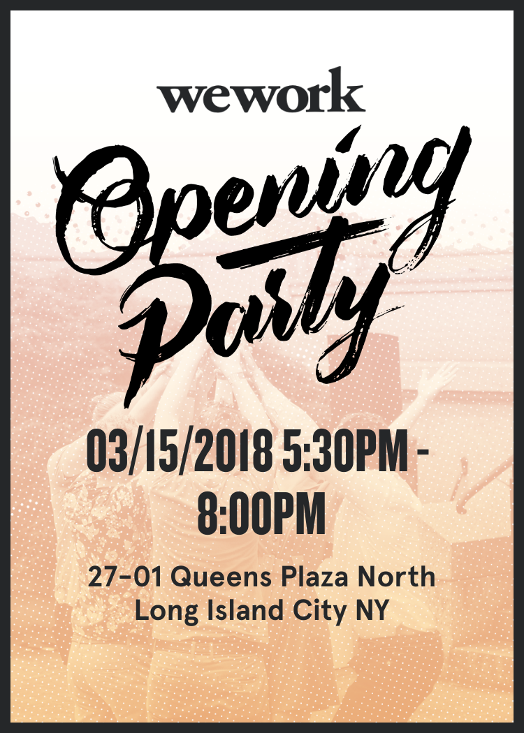 Queens Plaza Opening Party