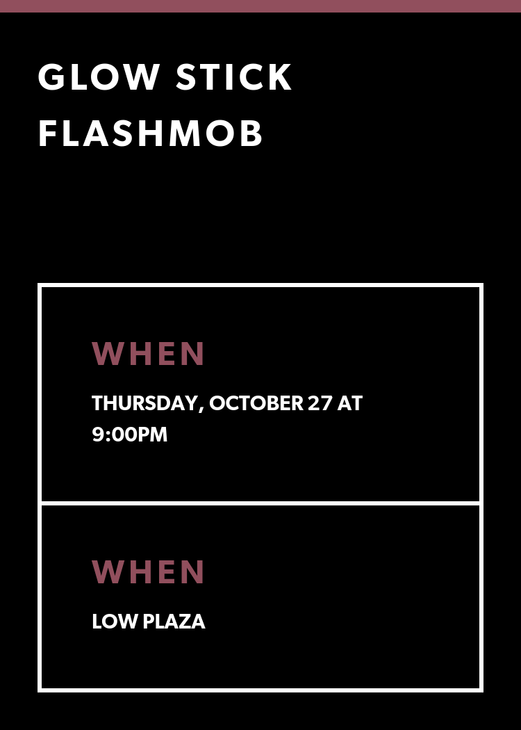 Glow Flashmob