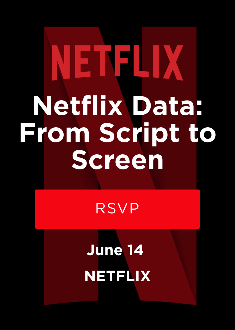 Netflix Data: From Script To Screen