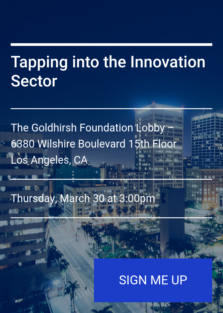 Tapping Into The Innovation Sector