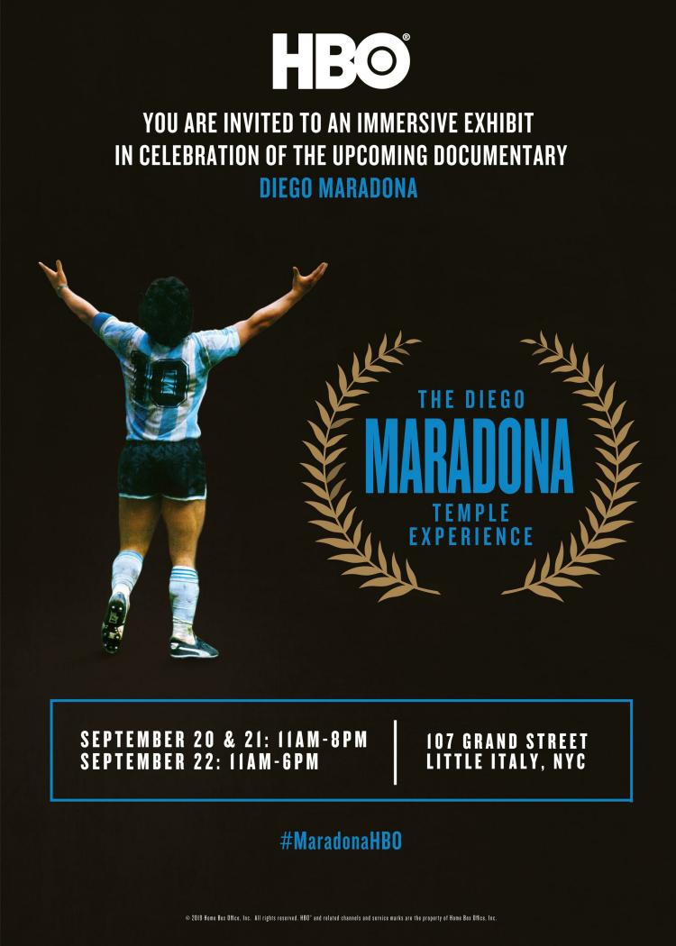 The Diego Maradona Temple Experience - Splash