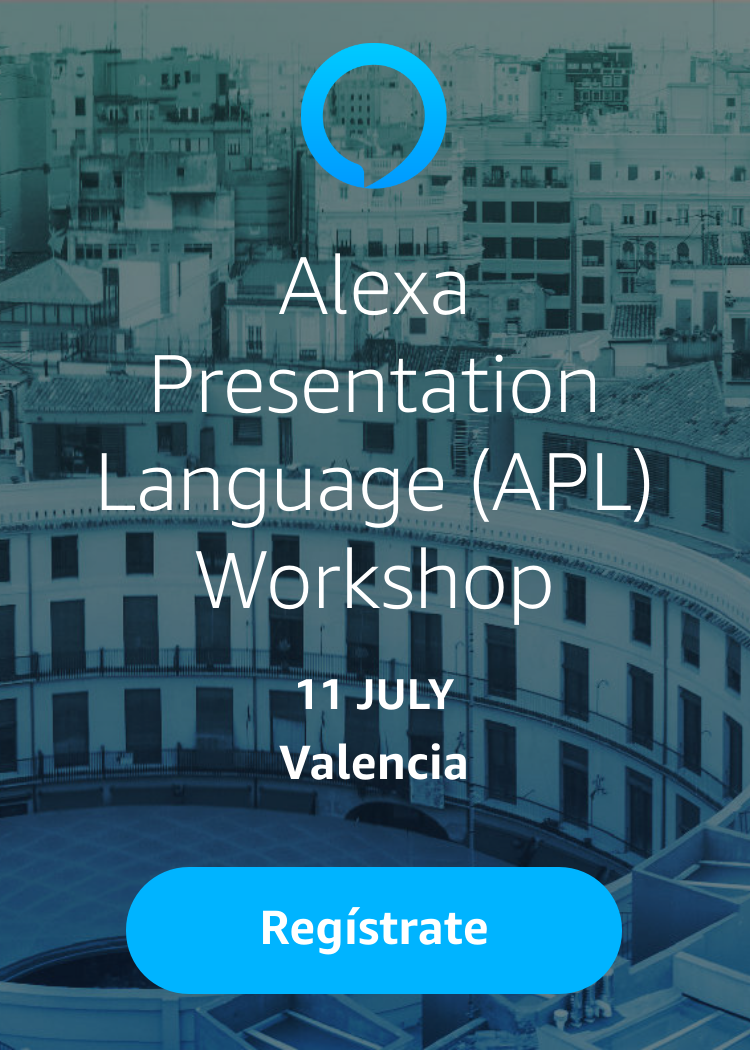 Image result for Alexa Presentation Language (APL) Workshop lanzadera