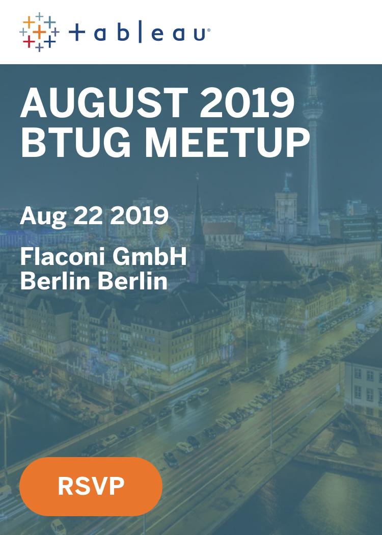August 2019 BTUG Meetup