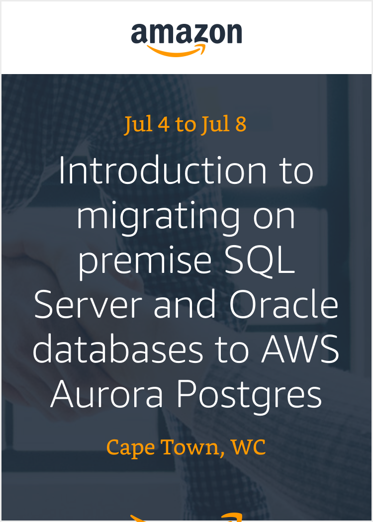 Introduction To Migrating On Premise SQL Server And Oracle