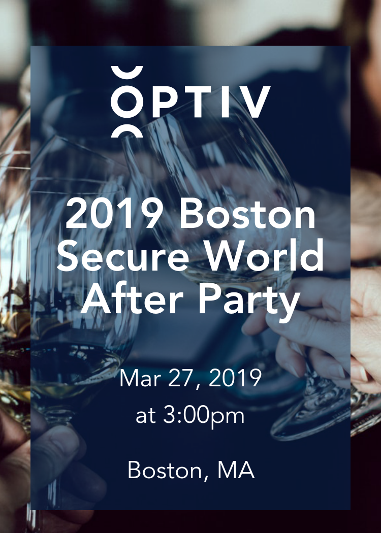 2019 Boston Secure World After Party
