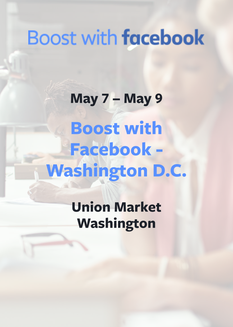 Boost With Facebook - Washington DC