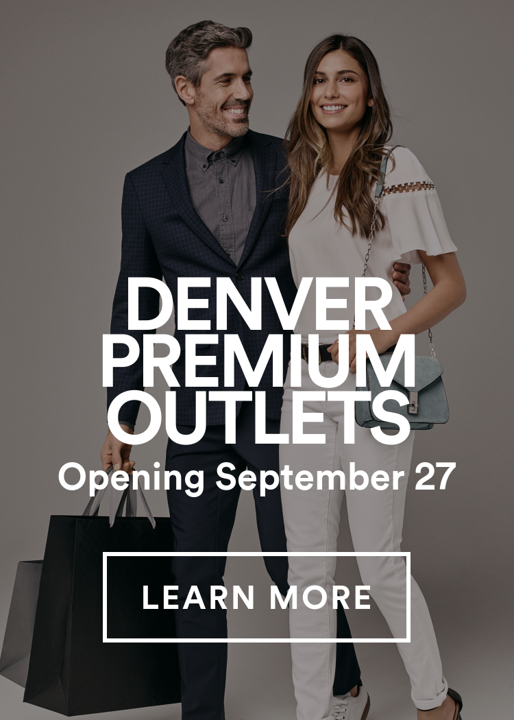 Denver Premium Outlets - Opening September 27