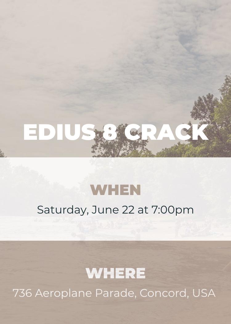 crack edius 8