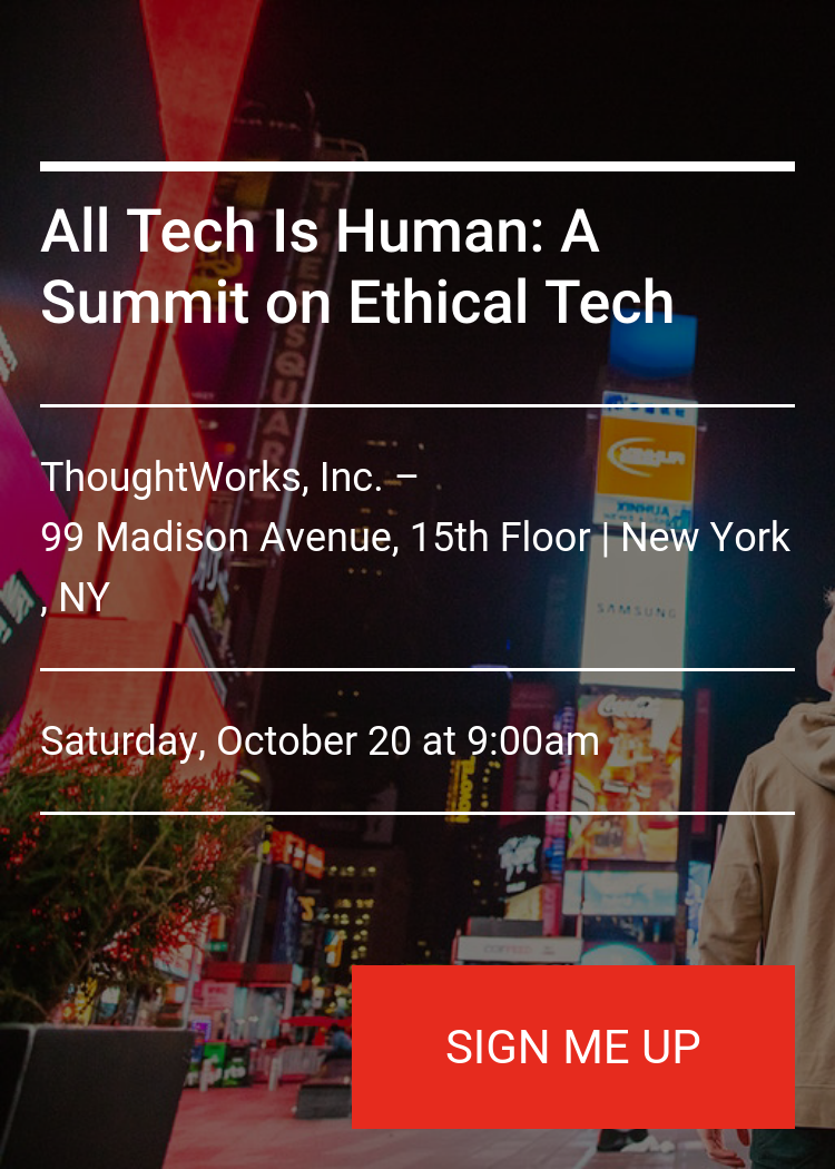 All Tech Is Human A Summit On Ethical Tech Splash