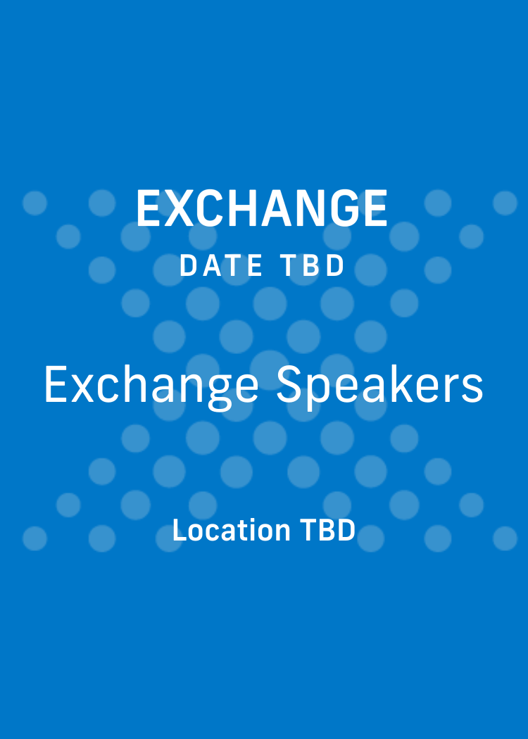 Exchange Speakers
