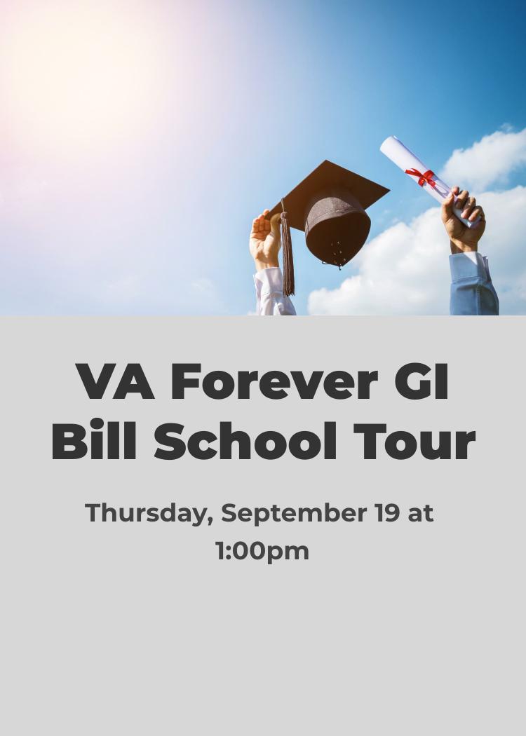 VA Forever GI Bill School Tour - Splash