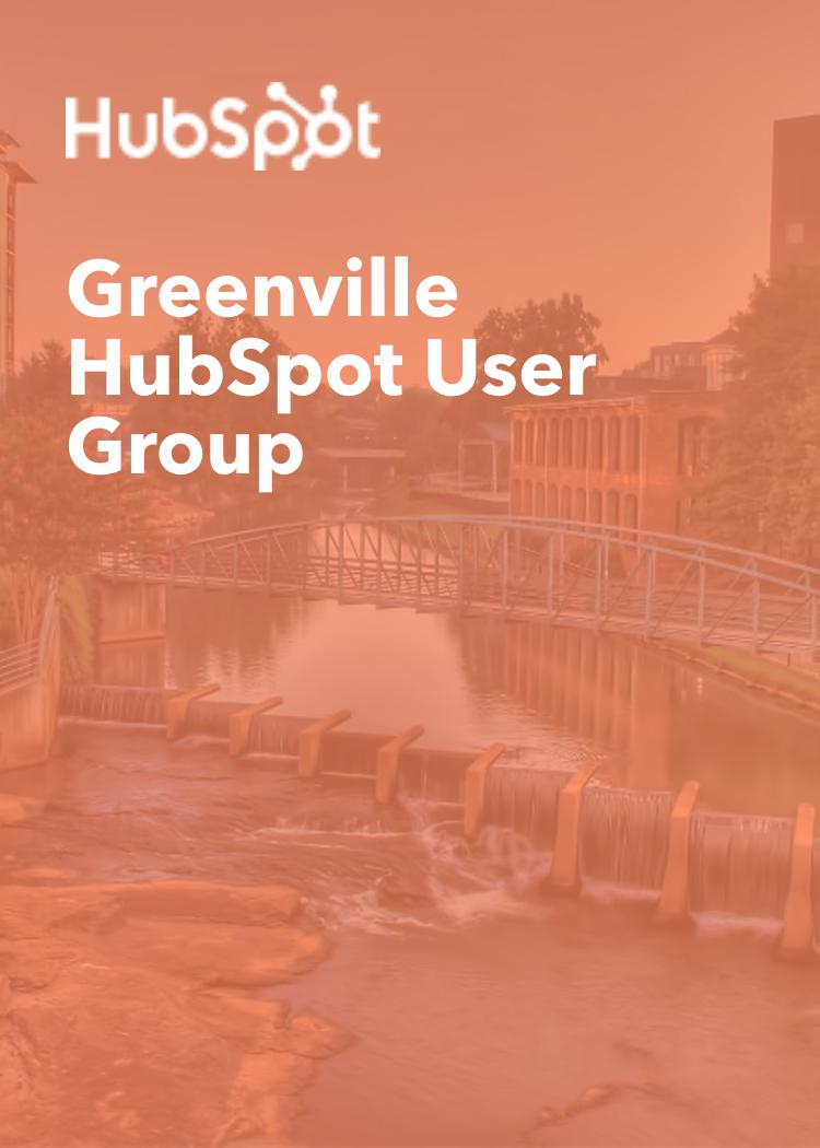 Greenville HubSpot User Group
