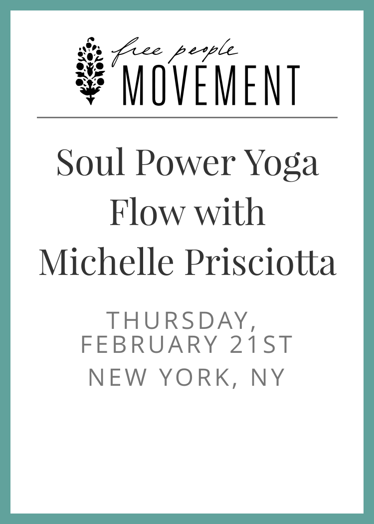Soul Power Yoga Flow With Michelle Prisciotta